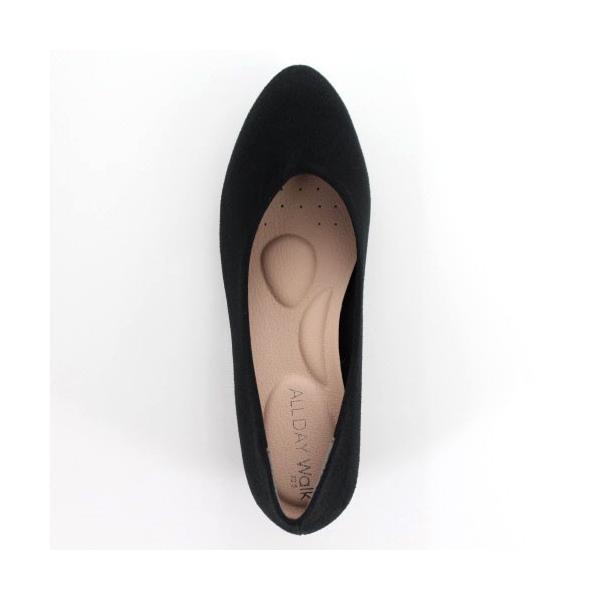 ALL DAY Walk オールデイウォーク 靴 ALD 2150 パンプス アーモンドトゥ ビジネス フォーマル リクルート 2E 黒 ブラック レディース セール|washington|04