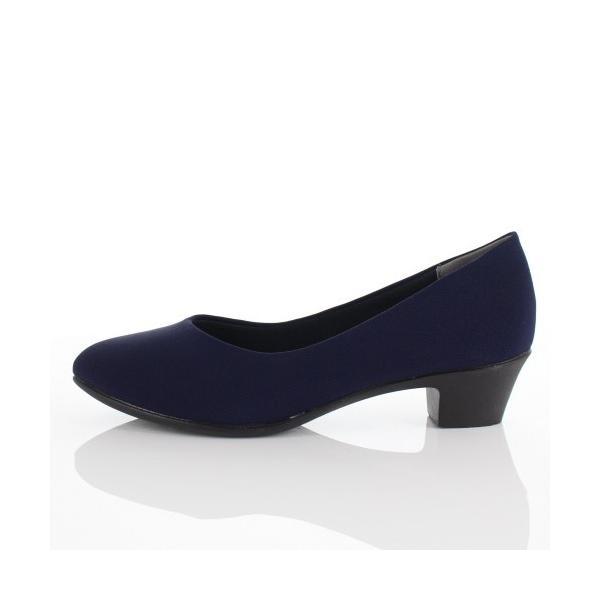 ALL DAY Walk オールデイウォーク 靴 ALD 2150 パンプス アーモンドトゥ ビジネス フォーマル リクルート 2E 紺 ネイビー レディース セール|washington|02