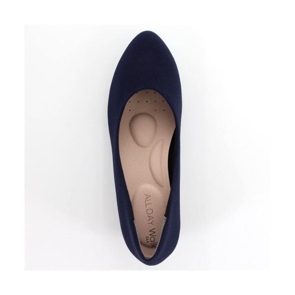 ALL DAY Walk オールデイウォーク 靴 ALD 2150 パンプス アーモンドトゥ ビジネス フォーマル リクルート 2E 紺 ネイビー レディース セール|washington|04