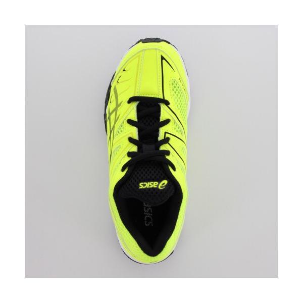 アシックス レーザービーム asics LAZERBEAM SC  1154A004-750 YB-00004 SAFETY YELLOW/PERFORMANCE BLACK ジュニア スニーカー 紐 黄色|washington|04