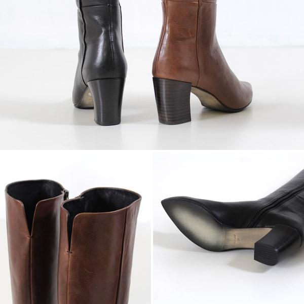 RABOKIGOSHI works ブーツ ラボキゴシ ワークス 靴 12108 本革 ロングブーツ ヒール レディース レザーブーツ セール|washington|05