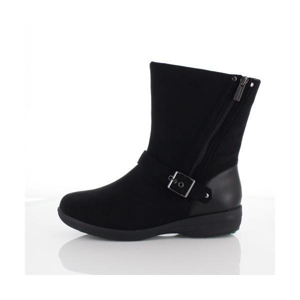 madrasWalk マドラスウォーク 靴 MWL2108 防水 ブーツ ショートブーツ ストレッチ素材 4E GORE-TEX 黒 ブラック レディース セール|washington|02