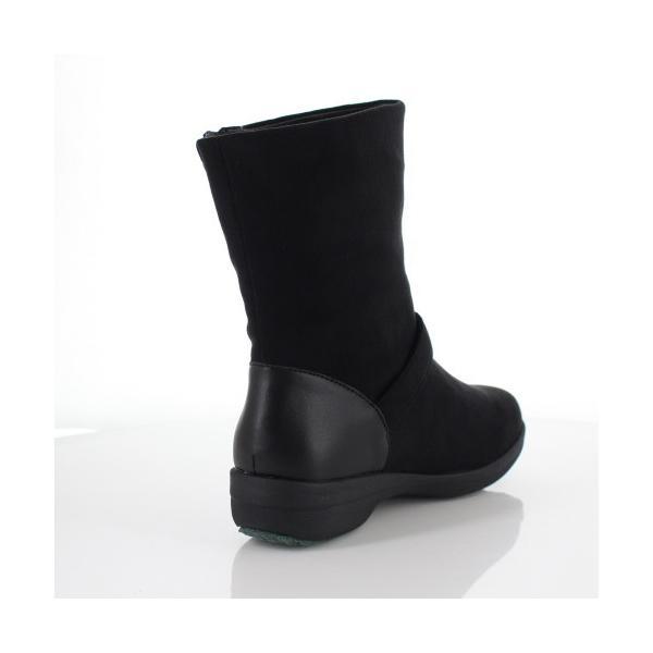 madrasWalk マドラスウォーク 靴 MWL2108 防水 ブーツ ショートブーツ ストレッチ素材 4E GORE-TEX 黒 ブラック レディース セール|washington|03