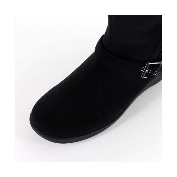 madrasWalk マドラスウォーク 靴 MWL2108 防水 ブーツ ショートブーツ ストレッチ素材 4E GORE-TEX 黒 ブラック レディース セール|washington|04