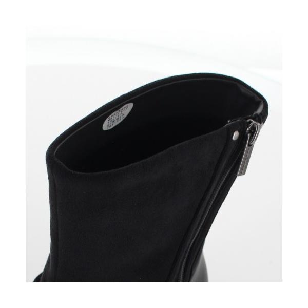 madrasWalk マドラスウォーク 靴 MWL2108 防水 ブーツ ショートブーツ ストレッチ素材 4E GORE-TEX 黒 ブラック レディース セール|washington|06