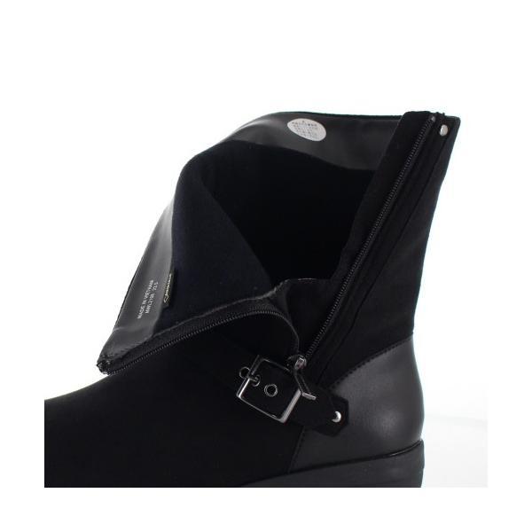madrasWalk マドラスウォーク 靴 MWL2108 防水 ブーツ ショートブーツ ストレッチ素材 4E GORE-TEX 黒 ブラック レディース セール|washington|07