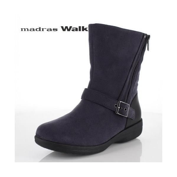 madrasWalk マドラスウォーク 靴 MWL2108 防水 ブーツ ショートブーツ ストレッチ素材 4E GORE-TEX 灰色 グレー レディース セール|washington