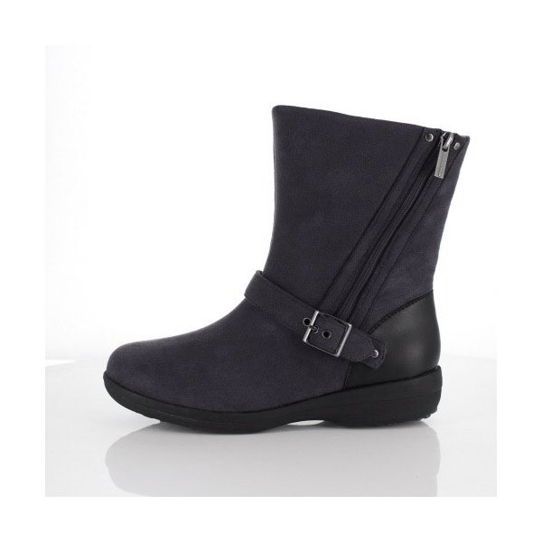 madrasWalk マドラスウォーク 靴 MWL2108 防水 ブーツ ショートブーツ ストレッチ素材 4E GORE-TEX 灰色 グレー レディース セール|washington|02