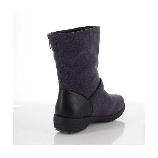 madrasWalk マドラスウォーク 靴 MWL2108 防水 ブーツ ショートブーツ ストレッチ素材 4E GORE-TEX 灰色 グレー レディース セール|washington|03