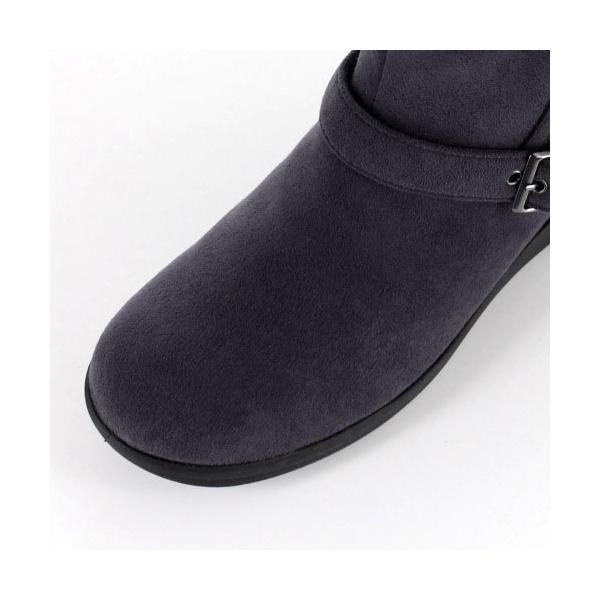 madrasWalk マドラスウォーク 靴 MWL2108 防水 ブーツ ショートブーツ ストレッチ素材 4E GORE-TEX 灰色 グレー レディース セール|washington|04