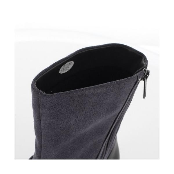 madrasWalk マドラスウォーク 靴 MWL2108 防水 ブーツ ショートブーツ ストレッチ素材 4E GORE-TEX 灰色 グレー レディース セール|washington|06