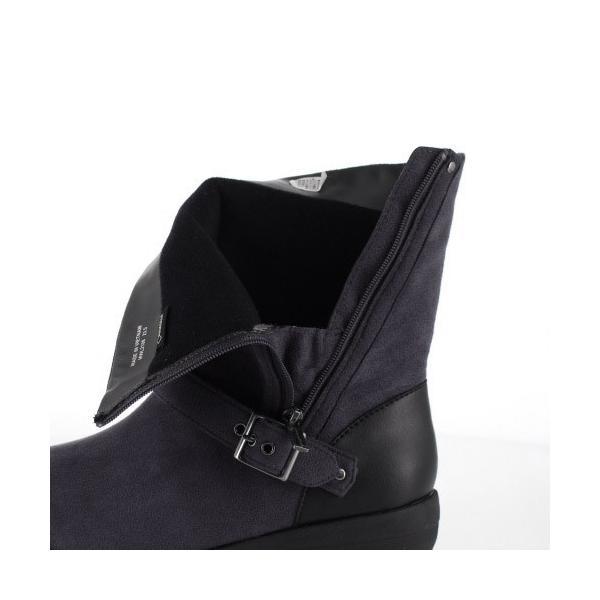 madrasWalk マドラスウォーク 靴 MWL2108 防水 ブーツ ショートブーツ ストレッチ素材 4E GORE-TEX 灰色 グレー レディース セール|washington|07