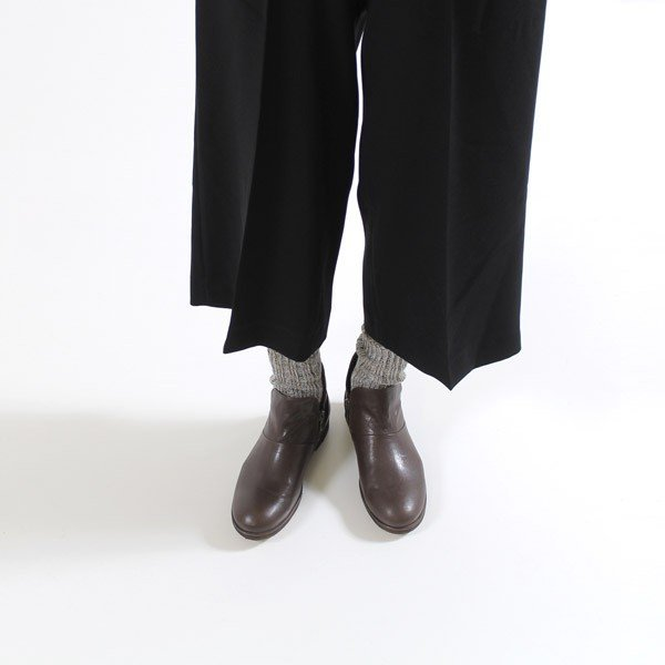 SAYA ブーツ サヤ ラボキゴシ 靴 50511 本革 アンクルブーツ レディース ショートブーツ ローヒール クレープソール 日本製 セール|washington|04