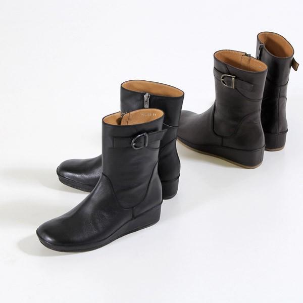 SAYA ブーツ サヤ ラボキゴシ 靴 50520 撥水 本革 ミドルブーツ ショートブーツ レディース 厚底 セール washington 02