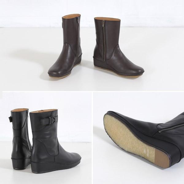SAYA ブーツ サヤ ラボキゴシ 靴 50520 撥水 本革 ミドルブーツ ショートブーツ レディース 厚底 セール washington 05
