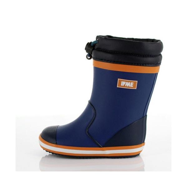 イフミー ベビー キッズ 長靴 IFME RAINBOOTS 80-8724 BLUE レインブーツ ブルー 防水 防滑|washington|02