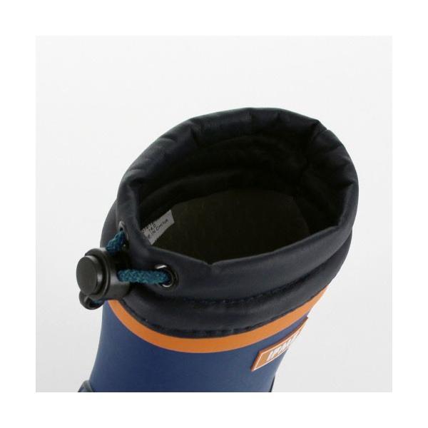 イフミー ベビー キッズ 長靴 IFME RAINBOOTS 80-8724 BLUE レインブーツ ブルー 防水 防滑|washington|04