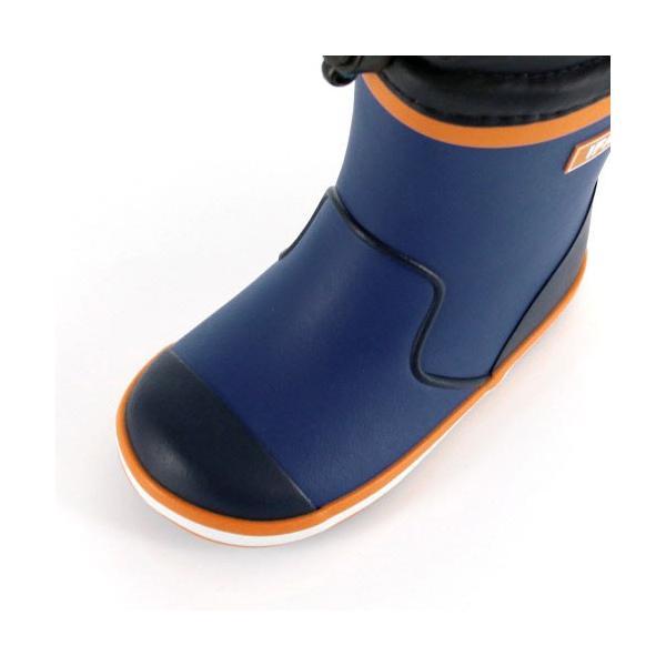 イフミー ベビー キッズ 長靴 IFME RAINBOOTS 80-8724 BLUE レインブーツ ブルー 防水 防滑|washington|06