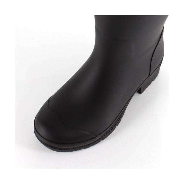 hiromichi nakano ヒロミチナカノ 長靴 HN WJ159R レインブーツ 防水 通学 2E 茶色 ブラウン ジュニア 子供 女性 レディース