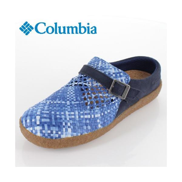 コロンビア メンズ レディース サンダル チャドウィック YU0255-448 ブルー 手編み washington