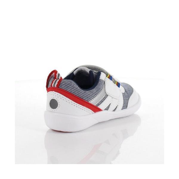 スニーカー イフミー ベビー IFME Light シューズ 22-9002 WHITE キッズ 子供靴 ホワイト ベルト ベルクロ 軽量|washington|03