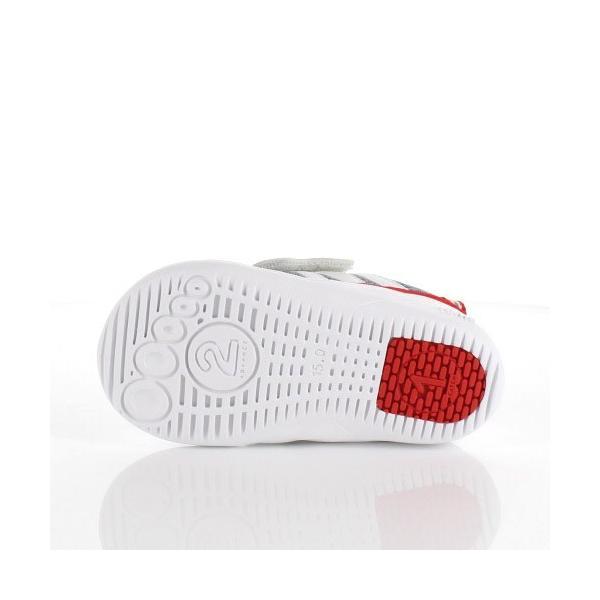 スニーカー イフミー ベビー IFME Light シューズ 22-9002 WHITE キッズ 子供靴 ホワイト ベルト ベルクロ 軽量|washington|05