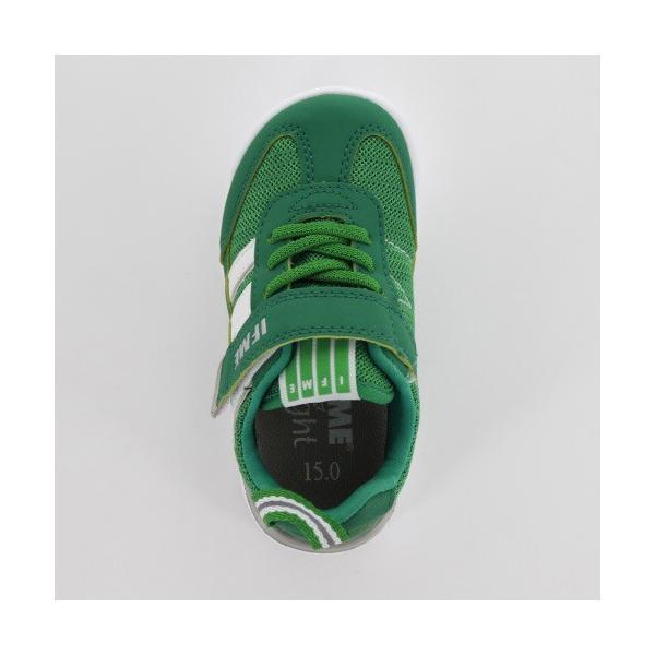 IFME イフミー 子供靴 スニーカー キッズ 30-9009 IFME Light GREEN 通園 通学 運動靴 超軽量 グリーン|washington|04