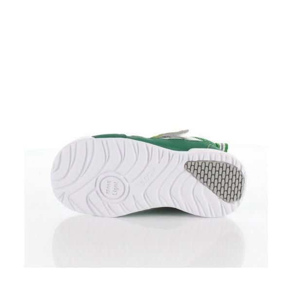 IFME イフミー 子供靴 スニーカー キッズ 30-9009 IFME Light GREEN 通園 通学 運動靴 超軽量 グリーン|washington|05