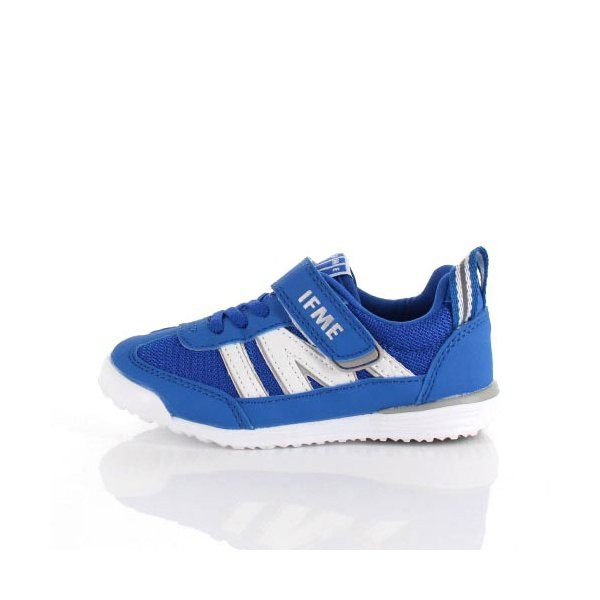 スニーカー イフミー キッズ IFME Light シューズ 22-9009 BLUE ブルー ジュニア 子供靴 ベルクロ 軽量|washington|02