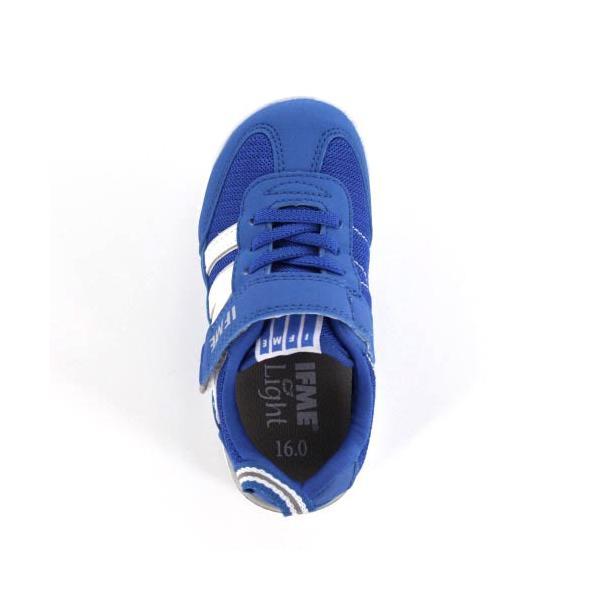スニーカー イフミー キッズ IFME Light シューズ 22-9009 BLUE ブルー ジュニア 子供靴 ベルクロ 軽量|washington|04