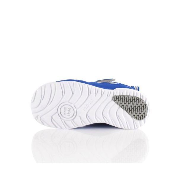 スニーカー イフミー キッズ IFME Light シューズ 22-9009 BLUE ブルー ジュニア 子供靴 ベルクロ 軽量|washington|05