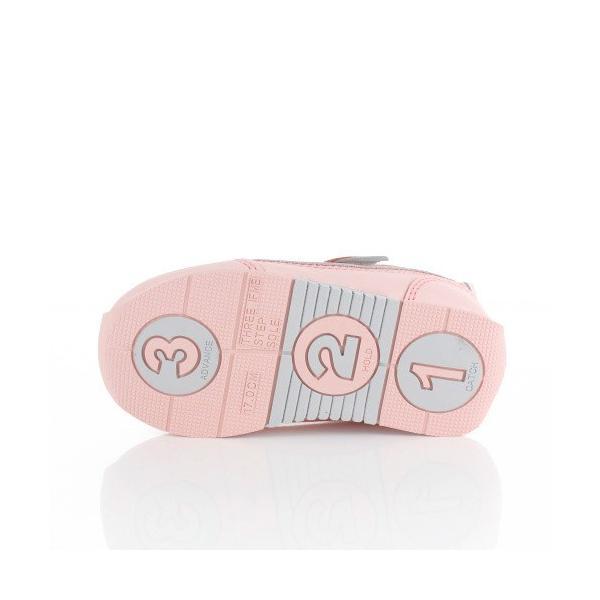 スニーカー イフミー キッズ IFME BASIC シューズ 30-9014 PINK ピンク ジュニア 子供靴 ベルクロ 軽量|washington|05