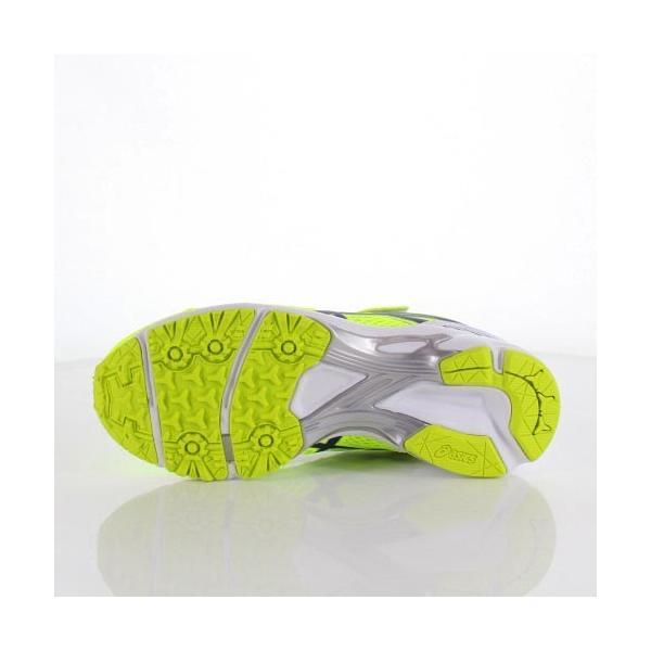 asics アシックス 靴 18 LAZERBEAM RD-MG 1154A018 スニーカー レーザービーム 運動靴 黄色 イエロー ベルクロ ジュニア キッズ|washington|05