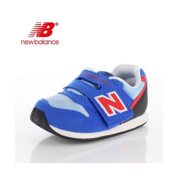 ニューバランス ベビー キッズ スニーカー new balance IV996 BLR BLUE/RED 通園 通学 プレゼント ギフト washington
