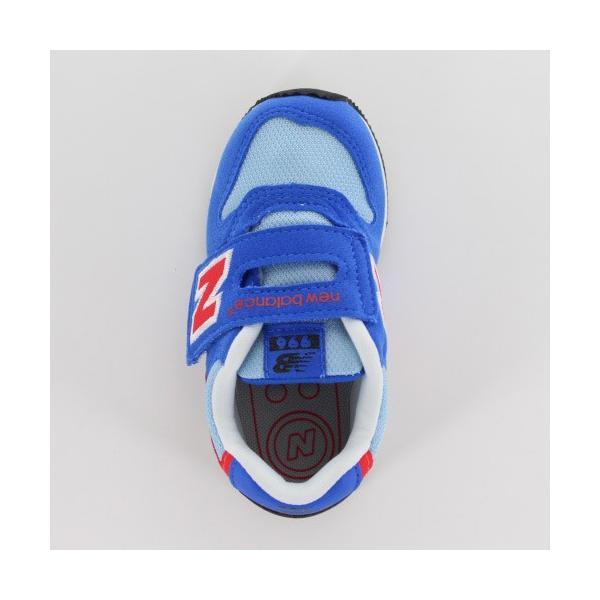 ニューバランス ベビー キッズ スニーカー new balance IV996 BLR BLUE/RED 通園 通学 プレゼント ギフト washington 04