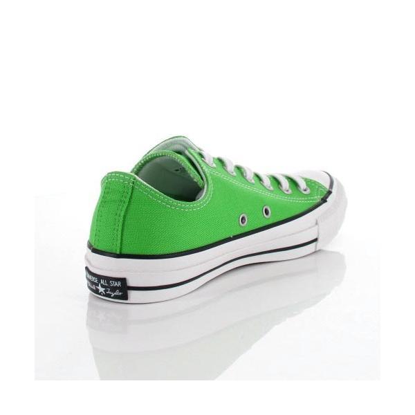 コンバース CONVERSE ALL STAR 100 COLORS OX メンズ レディース オールスター 100 カラーズ 1SC071 GREEN 63333-GR/08 スニーカー 靴 セール|washington|03