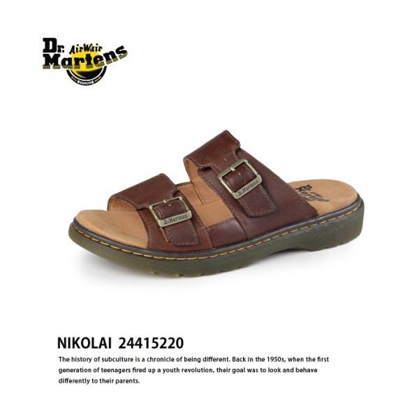 ドクターマーチン Dr.Martens ニコライ サンダル EVIVE NIKOLRAI 24415220 靴 2本ベルト|washington|02