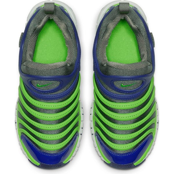 ナイキ ダイナモフリー NIKE DYNAMO FREE PS 343738-021 キッズ ジュニア スニーカー スリッポン ブルー グリーン 子供靴 靴 セール washington 03