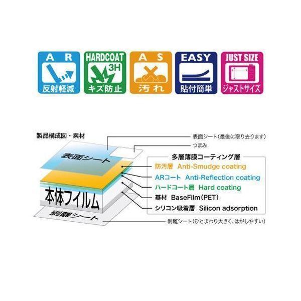 SONY HX50Vデジタルカメラ専用 液晶画面保護シール 503-0006G
