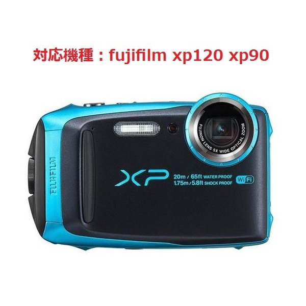 fujifilm finepix xp120 xp90 ファインピックス デジタルカメラ用 液晶保護フィルム 503-0028A00