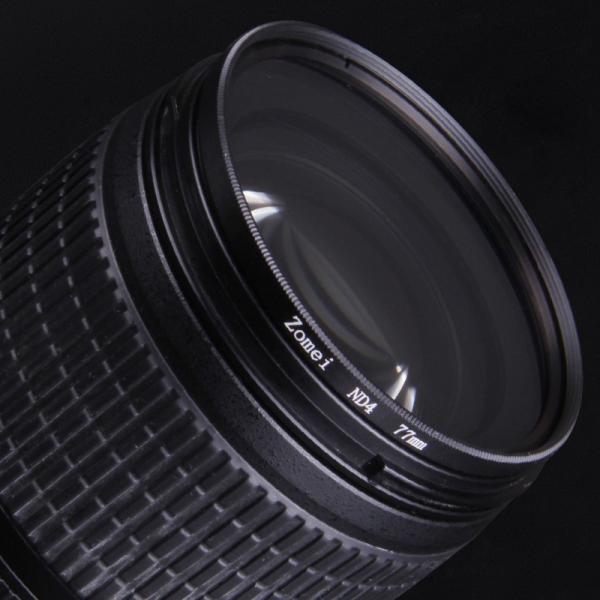 「Zomei」ドイツSCHOTTガラス使用 カメラ用フィルター   ND4光量調節用 減光フィルター (52mm)(517-0027)