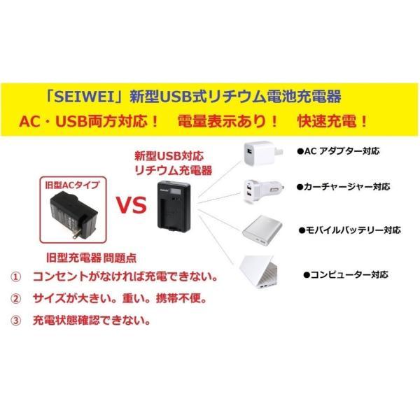 【WASHODO】カメラ新型 USB式急速USB式充電器 CANON NB-11L 電池対応  液晶画面付き電量表示仕様 【517-0040-06】
