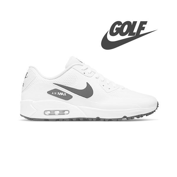 NIKE AIR MAX 90 GOLF White & Black  ナイキ エアマックス ゴルフシューズ 0102303