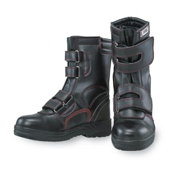 安全靴 作業靴 J-WORK 安全シューズ 半長靴マジックタイプ [JW-775] 23.5〜28、29、30cm おたふく手袋 お取寄せ 【返品交換不可】
