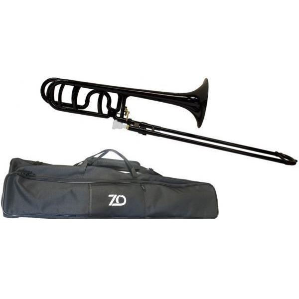 ZO(ゼットオー) トロンボーン 太管 TB-05 ブラック アウトレット プラスチック テナーバストロンボーン tenor bass trombone 黒色 北海道 沖縄 離島不可