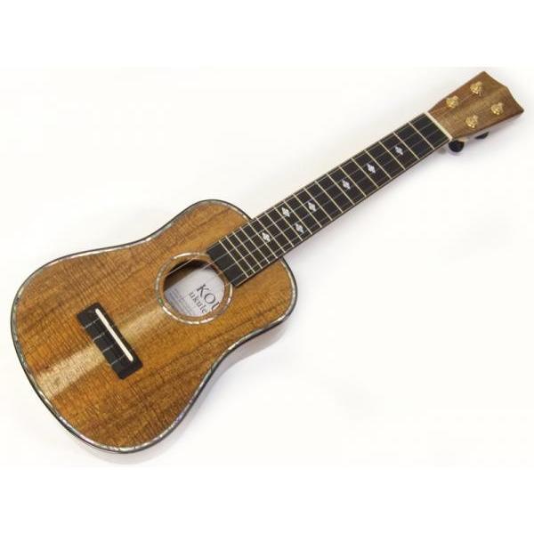 KOU ukulele SBASPK-LN 【日本製 ソプラノ ロングネック ウクレレ 特価 】【決算最強価格! 】