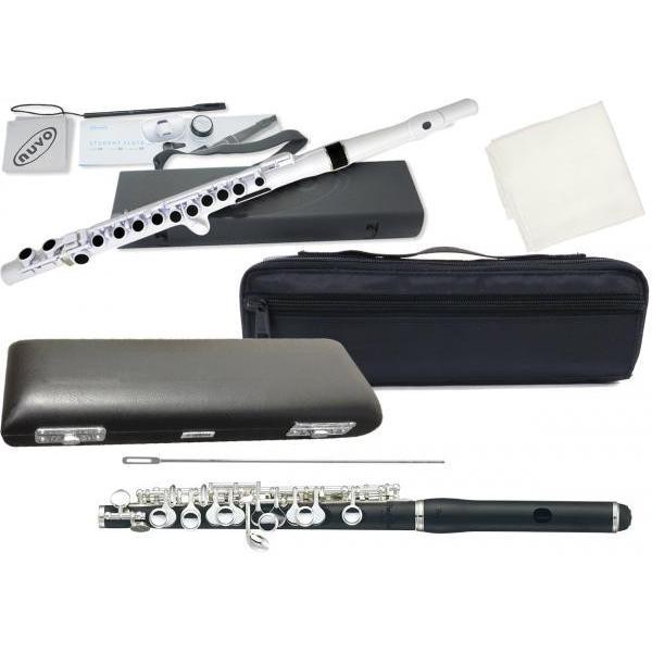 Pearl Flute PFP-105ES ピッコロ 合成樹脂 グラナディッテ製 スタンダードタイプ歌口 管楽器 頭部管 管体 樹脂製 Eメカニズム  PFP105ES セット F