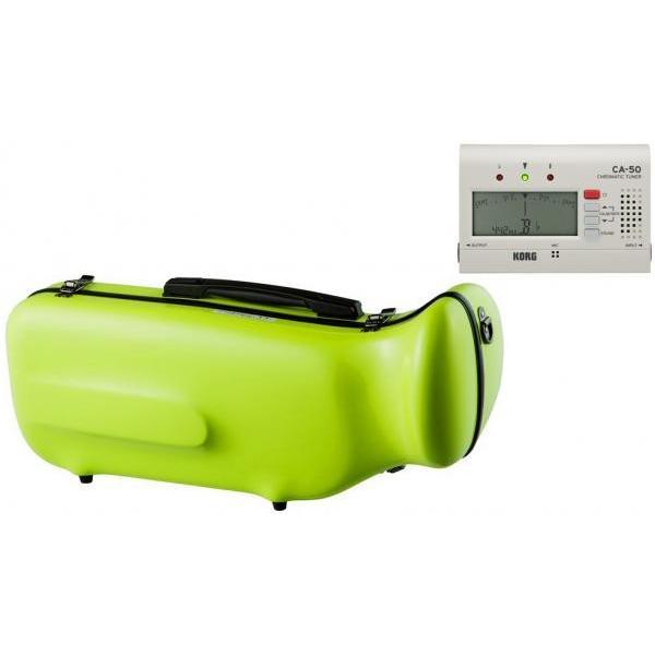 CCシャイニーケース II 【予約】 CC2-TP-AG トランペットケース アップルグリーン ハードケース トランペット用 リュック シングル ケース apple green セット L