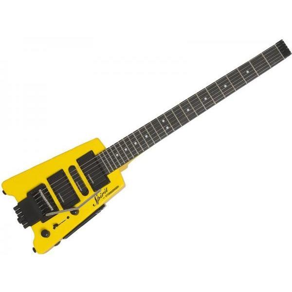 STEINBERGER(スタインバーガー) Spirit  GT-PRO Deluxe Hot Rod Yellow 【ヘッドレス エレキギター】