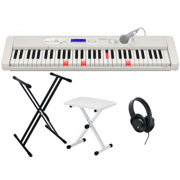 CASIO(カシオ) 光ナビ キーボード 61鍵盤 LK-520 練習セット 2